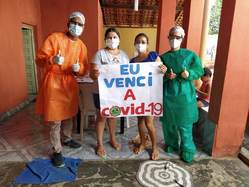 Sobe para 06 o número de recuperados da covid em Lagoinha; veja o boletim
