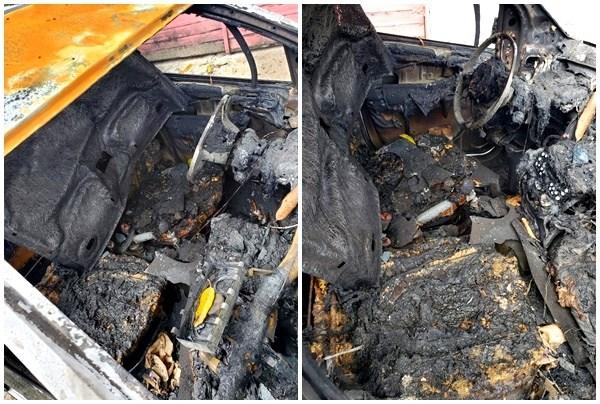 Empresário tem carro incendiado na cidade de Parnaíba