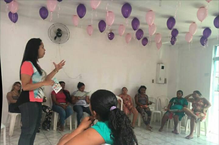 CRAS realiza encontro com gestantes beneficiárias do Bolsa Família em Amarante