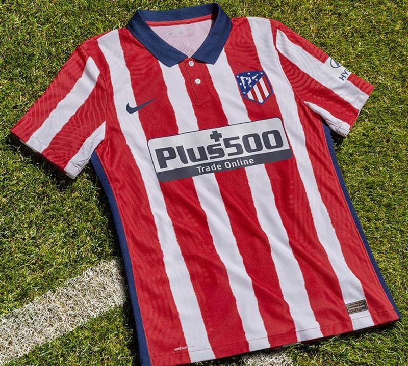 Atlético de Madrid lança uniforme para 2020/21