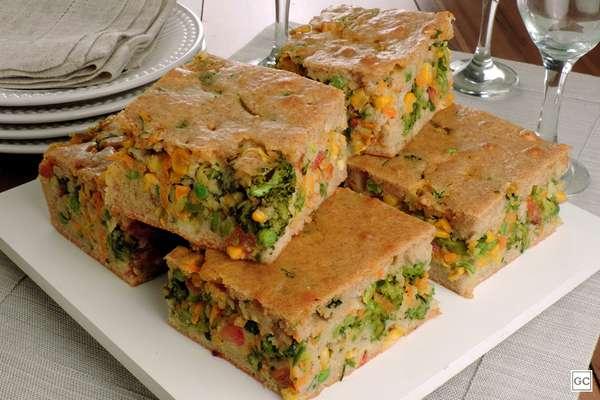 Torta de legumes: veja nove receitas com ingredientes fáceis