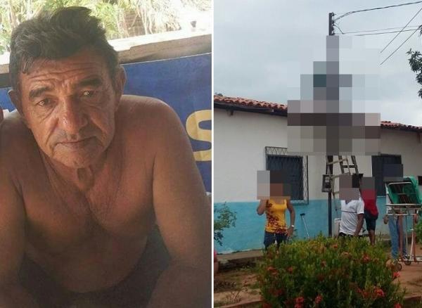 Homem morre eletrocutado após tocar em fio ligado a poste no Piauí