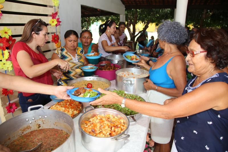 Secretaria realiza festa de encerramento da Semana do Idoso em Altos