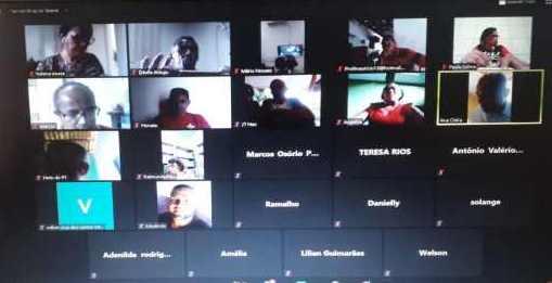 Em reunião virtual PT/Timon mantém apoio a pré-candidatura de Dinair Veloso