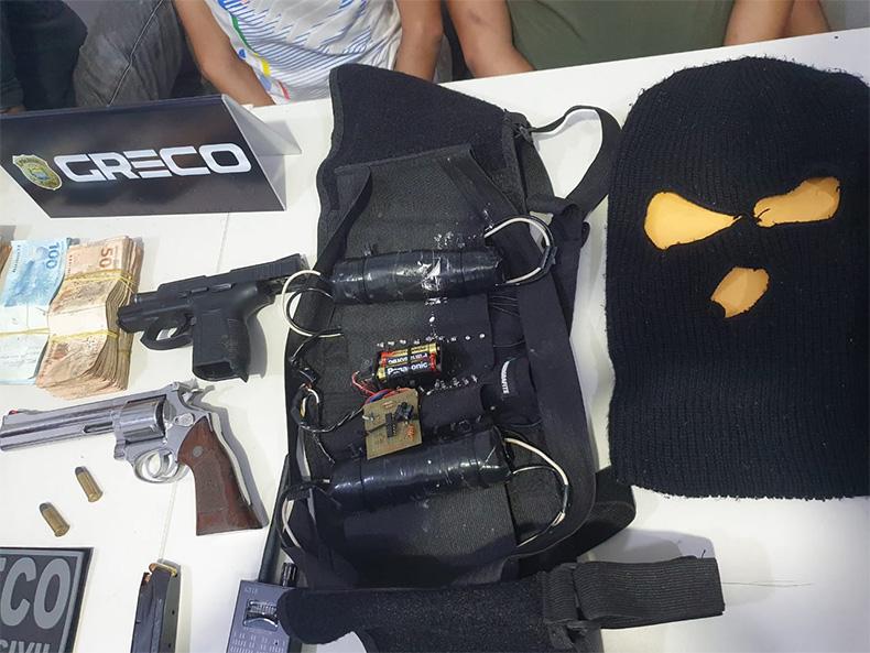 Grupo é preso após sequestrar gerente do Itaú e família em Teresina