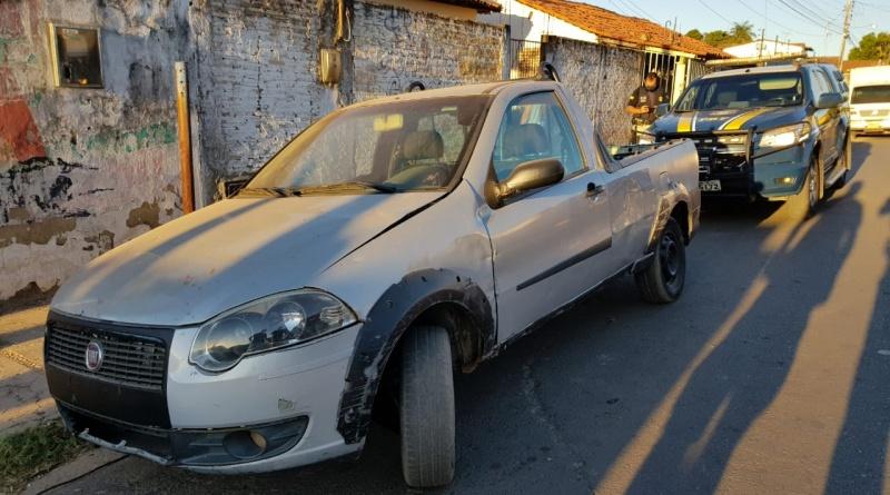 Veículo tomado de assalto em São Paulo é recuperado no Piauí