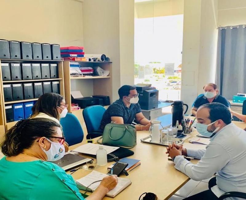 Prefeitura de Corrente e Estado alinham protocolo de Saúde