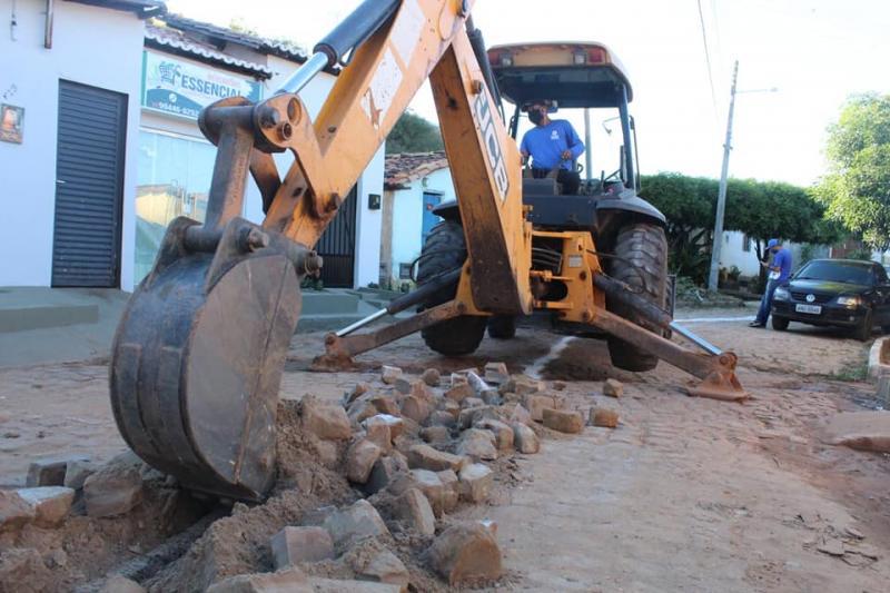 SAAE inicia nova etapa das obras de esgotamento na Vila São José em Oeiras