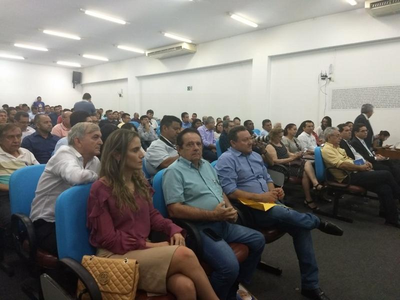 O prefeito de Uruçuí, dr. Wagner Coelho participou do lançamento do programa Avançar Cidades