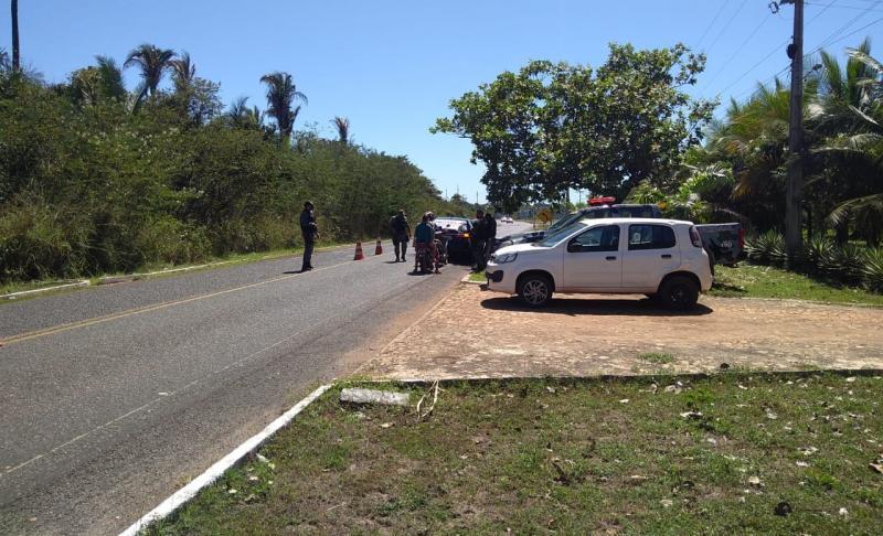 PM de José de Freitas intensifica trabalho contra criminalidade.