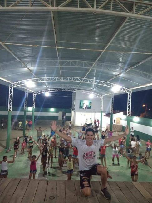 Aulas de zumba professor Reinam Dias