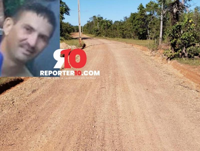 Motociclista morre em acidente na zona rural de Piripiri