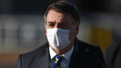 Bolsonaro informa em rede social sobre novo exame para a Covid-19