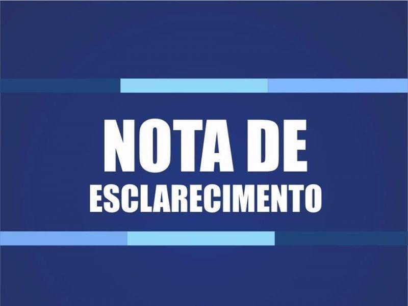 Prefeitura de Pau D'Arco publica nota de esclarecimento sobre teste rápido