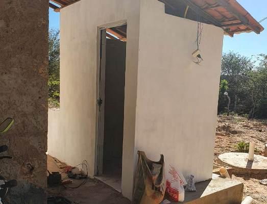 Prefeitura de Colônia do Gurgueia avança na construção de banheiros público