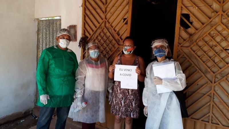 Saúde de Joaquim Pires comemora a recuperação de mais 3 pacientes da COVID