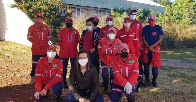 Prefeitura de Corrente realiza reunião com equipe de Bombeiros Civis