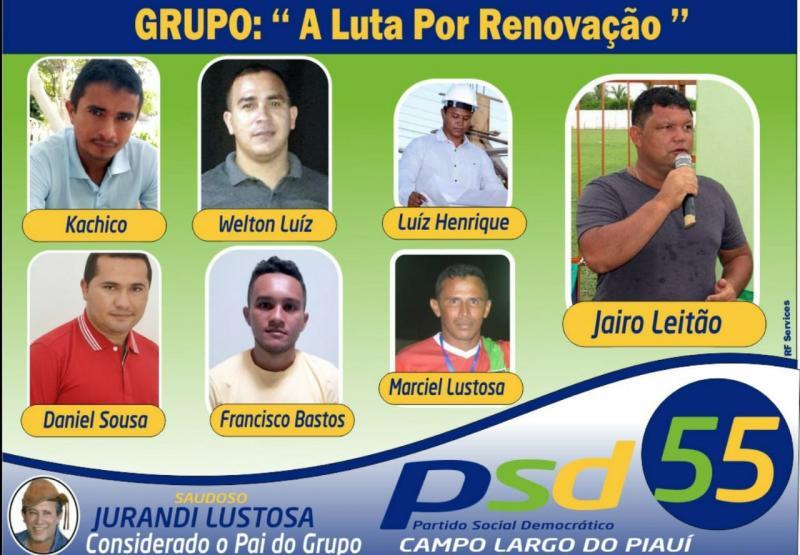PSD faz últimos reajustes de pré candidaturas em Campo Largo do Piauí