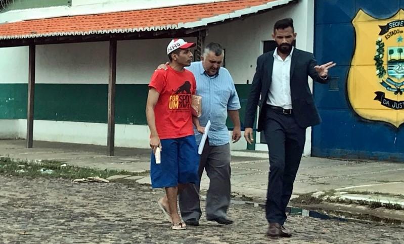 Homem condenado injustamente no Piauí deixa penitenciária