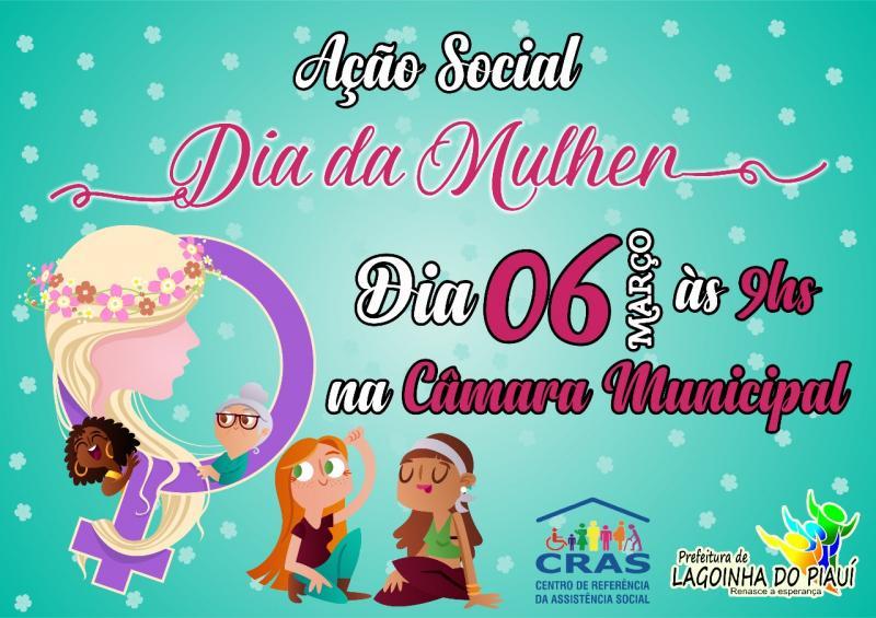 Prefeitura municipal de Lagoinha do Piauí realizara eventos e palestras no dia das mulheres