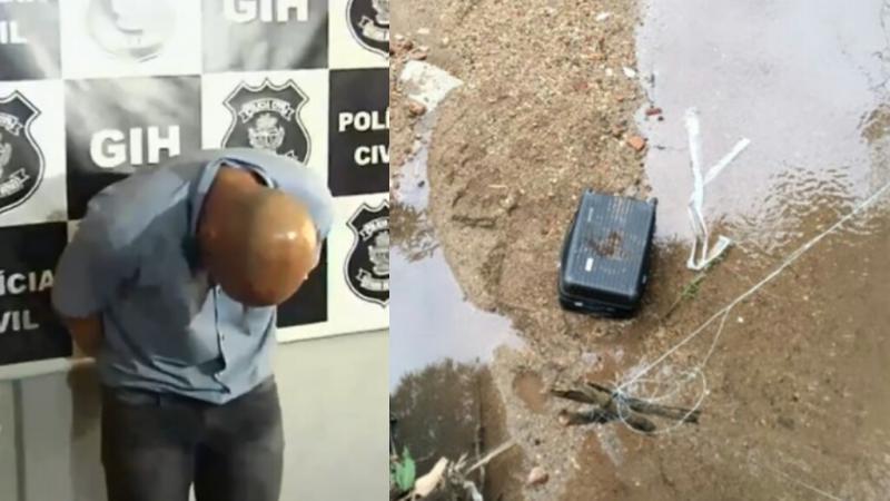 Preso estudante de Direito suspeito de matar piauiense e colocar corpo em mala