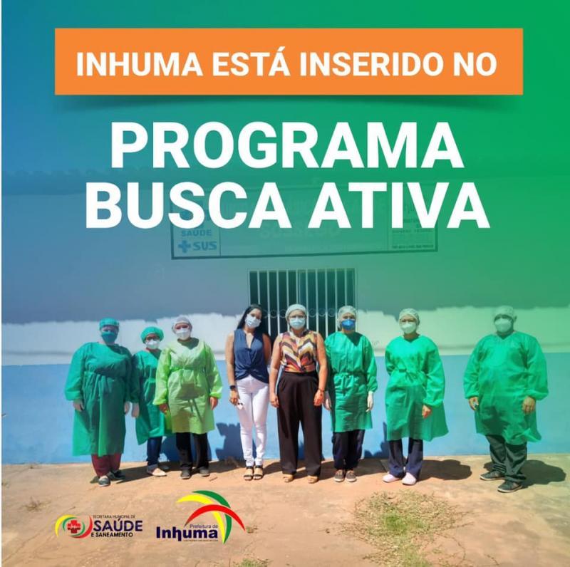 Prefeitura de Inhuma implanta o programa Busca Ativa Covid-19