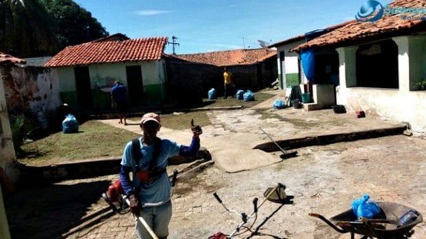 Prefeitura de Amarante faz mutirão de limpeza em escolas do município