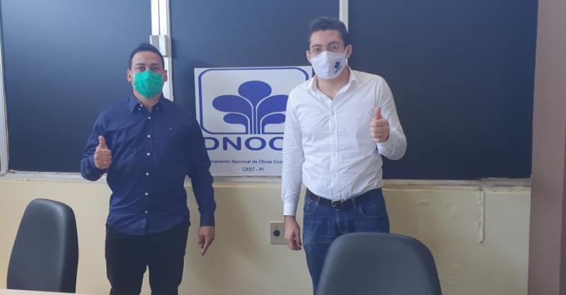 Vereador Henrique Guerra realiza visita ao DNOCS