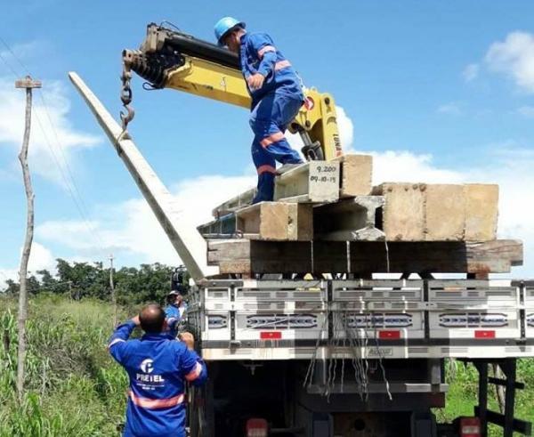 Prefeitura amplia rede de energia elétrica em Agricolândia