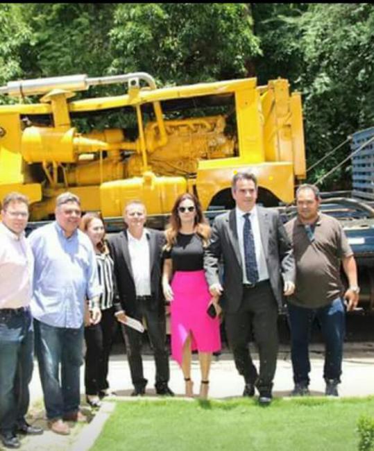 Prefeito Nilton Bacelar consegue poços tubulares para o município de Pau D'arco