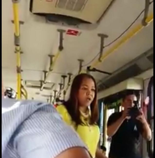 Passageira reclama de condições de ônibus para prefeito Firmino Filho