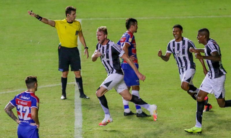 Ceará vence Fortaleza e está na final da Copa do Nordeste