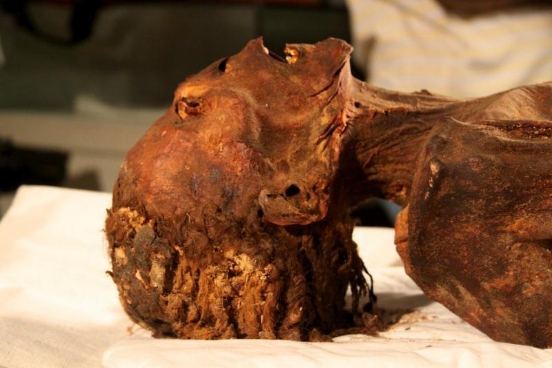 'Múmia que grita' pode ter morrido de ataque cardíaco há 3 mil anos