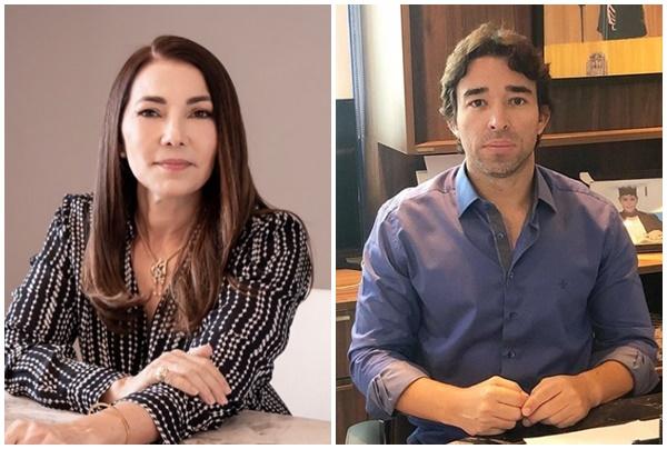 Margarete Coelho e Marden Menezes estão com covid-19