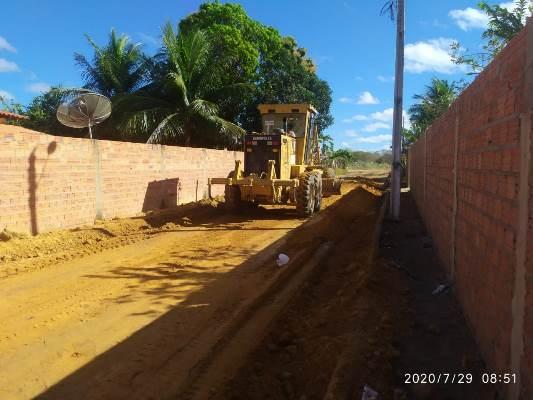Prefeitura de Colônia do Gurgueia realiza melhorias no Bairro Sol Nascente