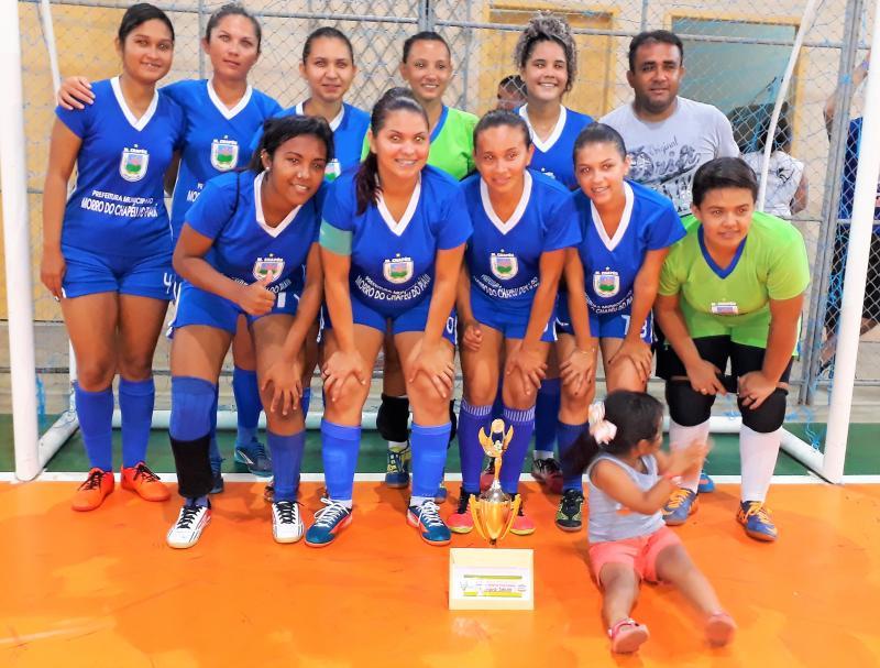 TORNEIO DE FUTSAL FEMININO: Seleção do Morro do Chapéu Vence São Bernardo - MA e se consagra campeã