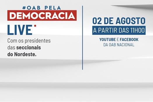 Presidente da OAB Piauí,, participará de live em defesa da Democracia