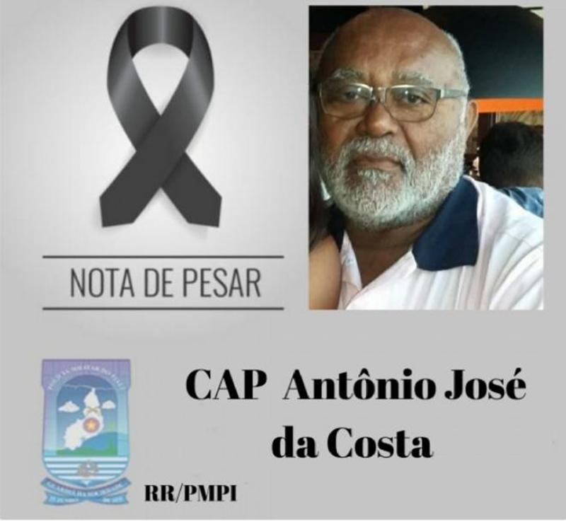 Capitão Antônio José da Costa morre vítima da covid-19