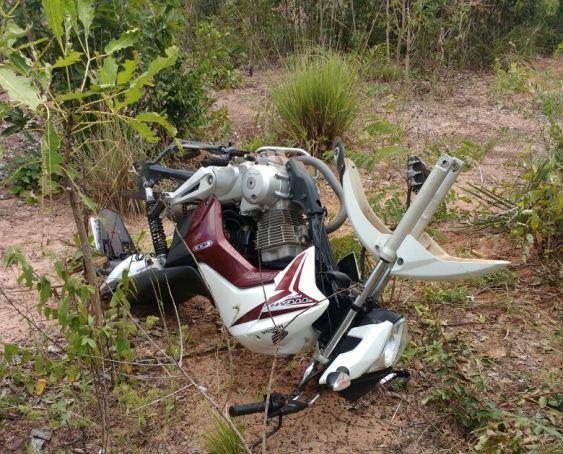 PM descobre desmanche de motos e prende dois em Esperantina