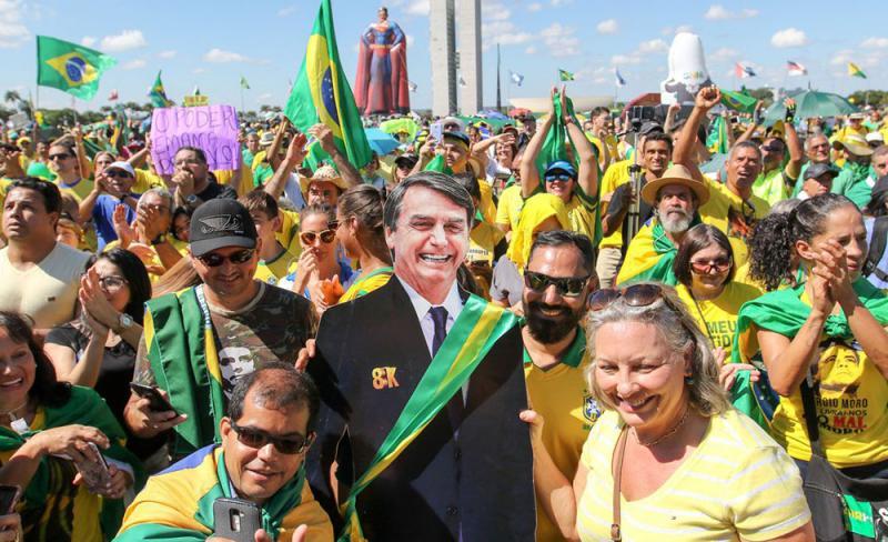 Facebook de apoiadores de Bolsonaro são bloqueados internacionalmente