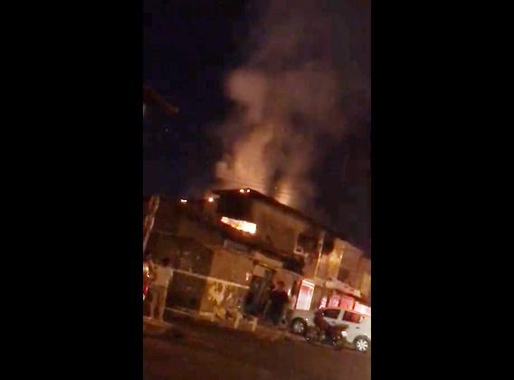Residência pega fogo na zona norte de Teresina