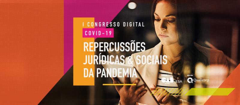OAB Piauí encerra participação no maior evento jurídico em ambiente virtual