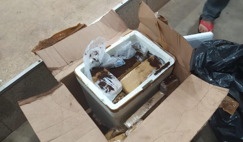 Jovem é preso transportando cerca de 60 kg de maconha em ônibus no PI