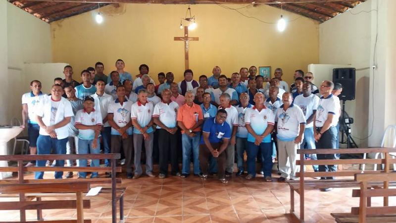 Terço dos Homens é instalado na cidade de Miguel Leão