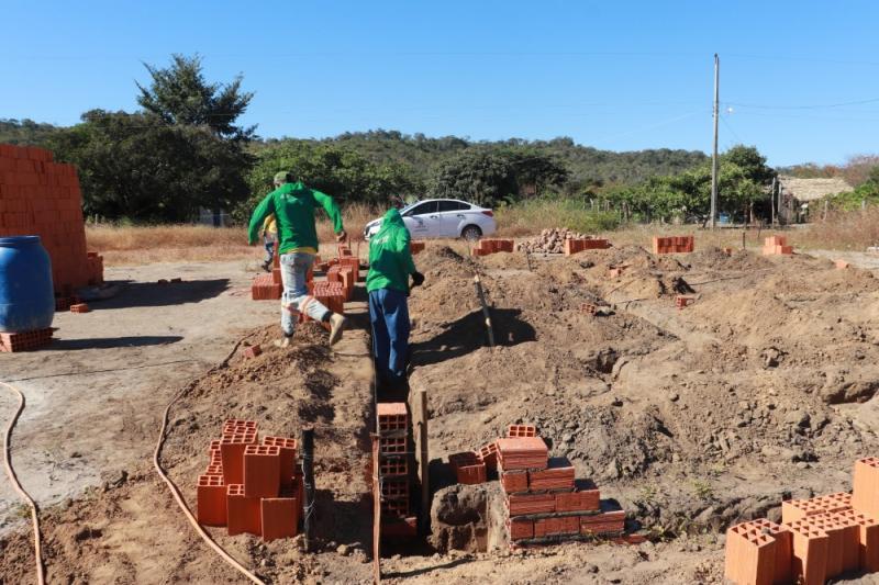 Prefeitura de Miguel Leão inicia obra de UBS no Assentamento Grajaú