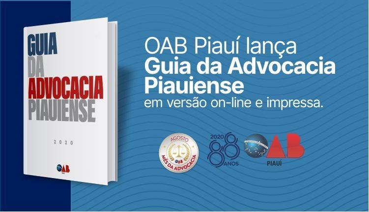 OAB Piauí lança Guia da Advocacia Piauiense