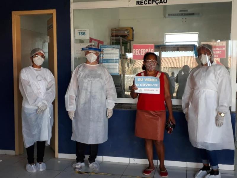 Confira os pacientes que venceram a covid-19 em Amarante