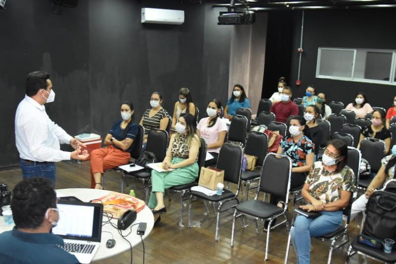 Gestores da SMS participam de reunião sobre o Programa Previne Brasil