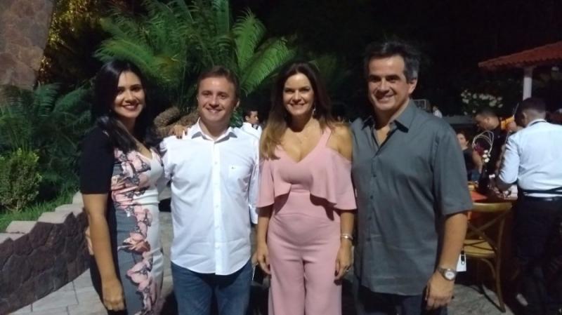 Prefeito Júnior Bill participa de encontro na casa do senador Ciro Nogueira