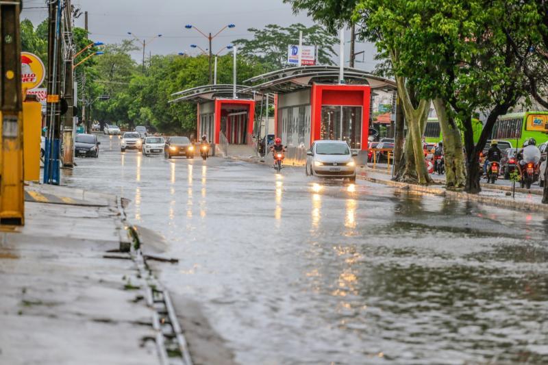 Previsão aponta pancadas de chuva até o fim de semana em Teresina